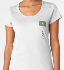 Maldives Women's Premium T-Shirt
