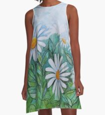 Daisies in your Garden A-Line Dress