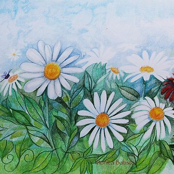 Daisies in your Garden by MonicaArtist