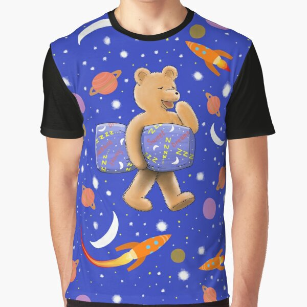 Sweet dreams sleepy bear Graphic T-Shirt