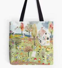Herbst Wimmelbild - Autumn  Tote Bag