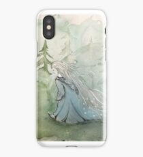 Miss Frost goes for a Walk iPhone Case/Skin