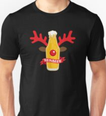 Camiseta unisex Reinbeer Christmas Pun Costume Wordplay Gift