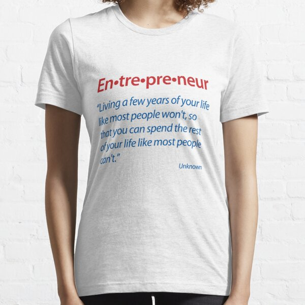 Entrepreneur Definition Essential T-Shirt