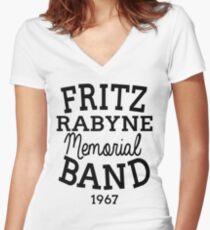 Fritz  Women's Fitted V-Neck T-Shirt