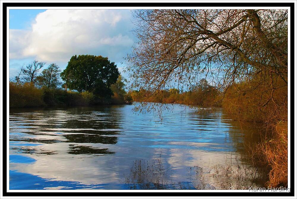 Ripple on the Severn by Karen Harding