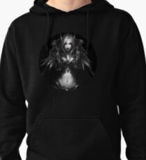 WOW- Sylvanas WIndrunner with out Wallpaper Pullover Hoodie