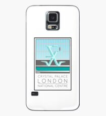 Lido Poster Crystal Palace Case/Skin for Samsung Galaxy