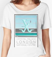 Lido Poster Crystal Palace Women's Relaxed Fit T-Shirt