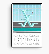 Lido Poster Crystal Palace Canvas Print
