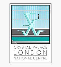 Lido Poster Crystal Palace Photographic Print