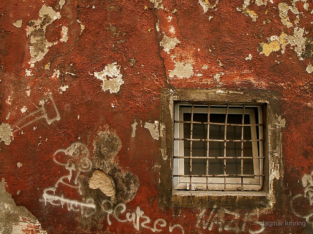 red wall by dagmar luhring