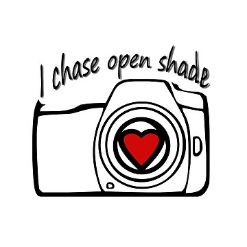 I chase open shade photography by LESLIEDYESIGN