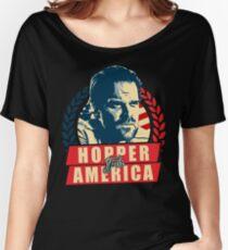 Jim Hopper for President Women's Relaxed Fit T-Shirt