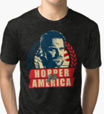 Jim Hopper for President Tri-blend T-Shirt