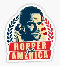 Jim Hopper for President Sticker
