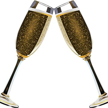 Champagne Glass 1. by Claudiocmb