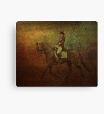 Rider Canvas Print