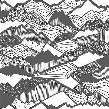 Mountain Pattern by zombalex