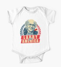 larry david for president One Piece - Short Sleeve