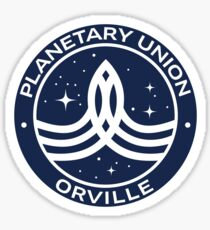 The Orville -  Planetary Union Logo Sticker