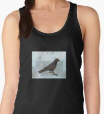 Raven in the Snow Women's Tank Top