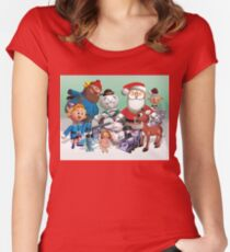 Holiday Fun Women's Fitted Scoop T-Shirt