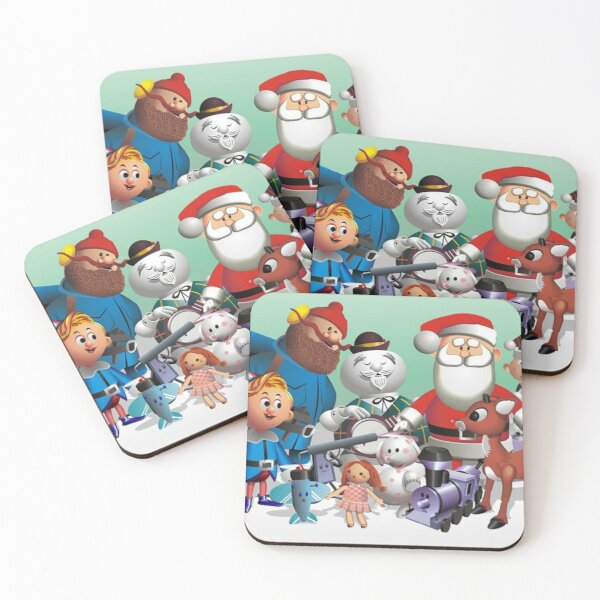 Holiday Fun Coasters (Set of 4)