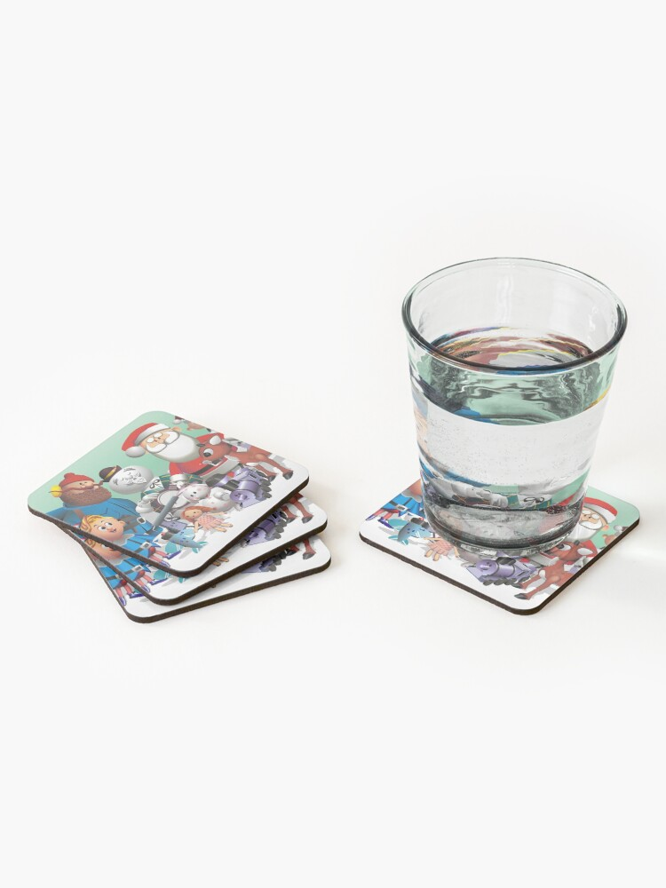 Alternate view of Holiday Fun Coasters (Set of 4)