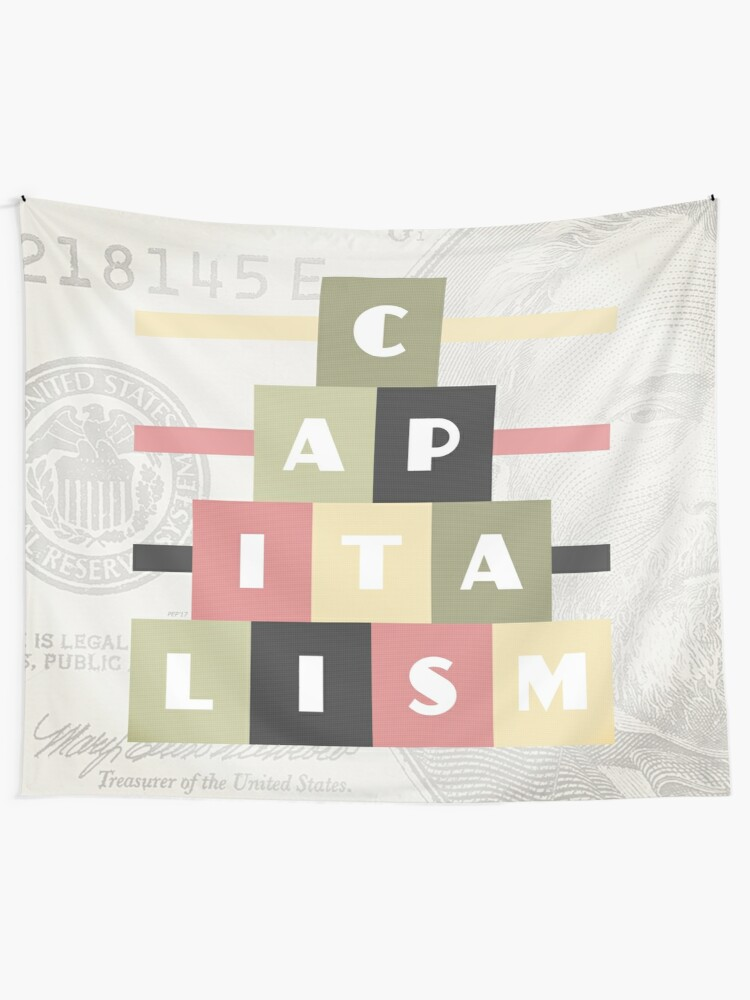 Alternate view of Capitalism Tapestry