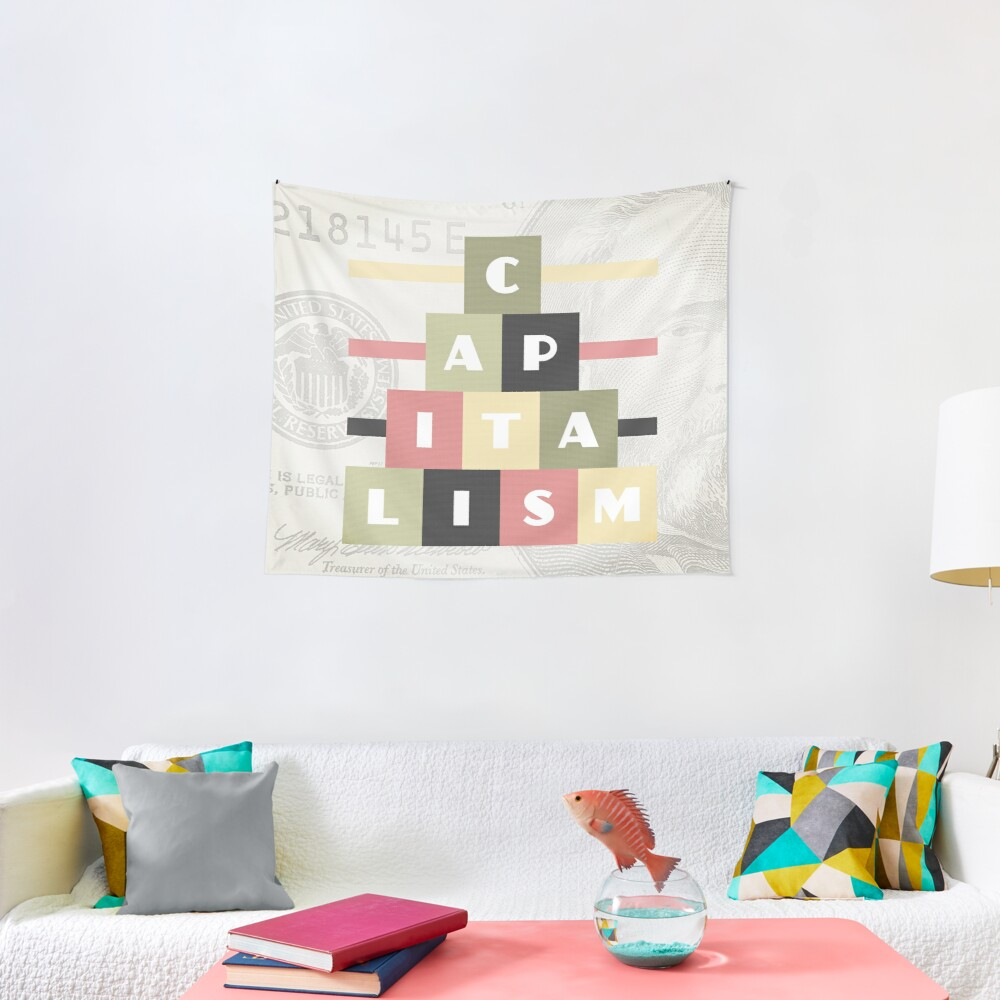 Capitalism Tapestry