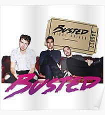 Busted Night Fahrer Tour Poster