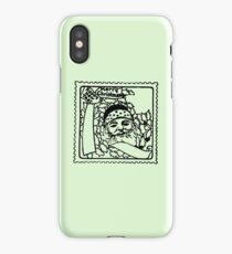 Christmas Stamp. iPhone Case