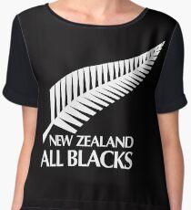 New Zealand All Blacks Chiffon Top