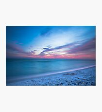 If By Sea - Sunset on the Beach Near Destin Florida Photographic Print