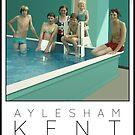 Lido Poster Aylesham Junior School by Steven House