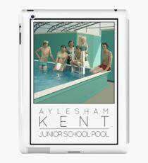 Lido Poster Aylesham Junior School iPad Case/Skin
