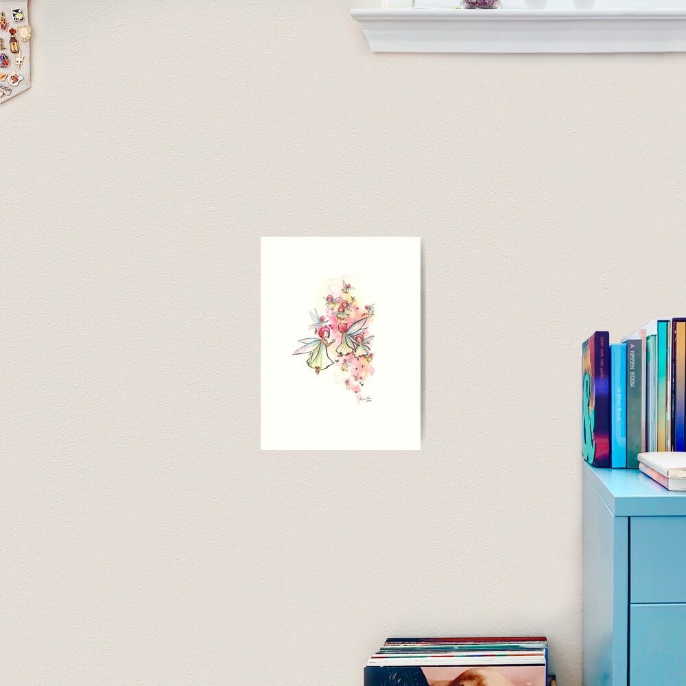 The Teeming Fairies Art Print