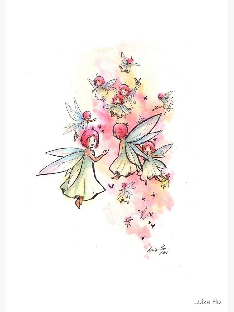 The Teeming Fairies by teapotsandhats