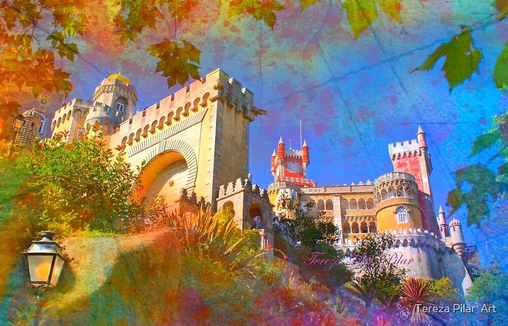 Palácio da Pena.  by terezadelpilar ~ art & architecture