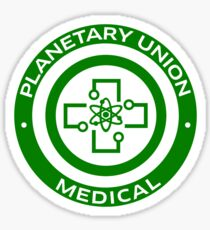 The Orville - Planetary Union -  Medical Sticker