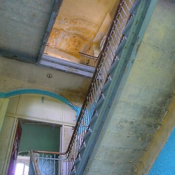Stairs 01.0, Lost Places, Beelitz by RaSch