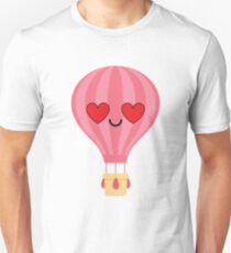 Hot air Balloon Emoji   Unisex T-Shirt
