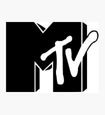 MTV Black & White Photographic Print