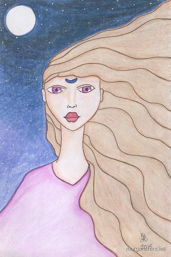 Arianrhod Goddess of Avalon by morgansfancies