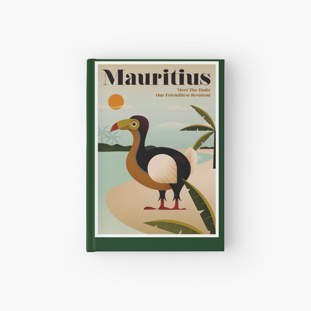 MAURITIUS; Vintage Reise- und Tourismusdruck Notizbuch