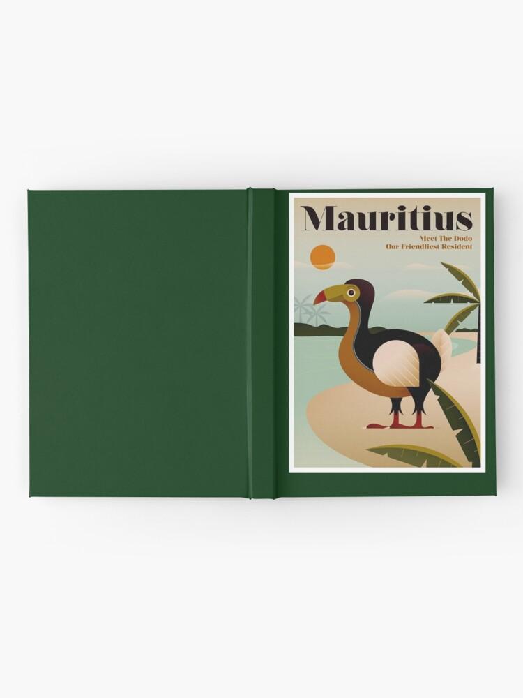 Alternative Ansicht von MAURITIUS; Vintage Reise- und Tourismusdruck Notizbuch