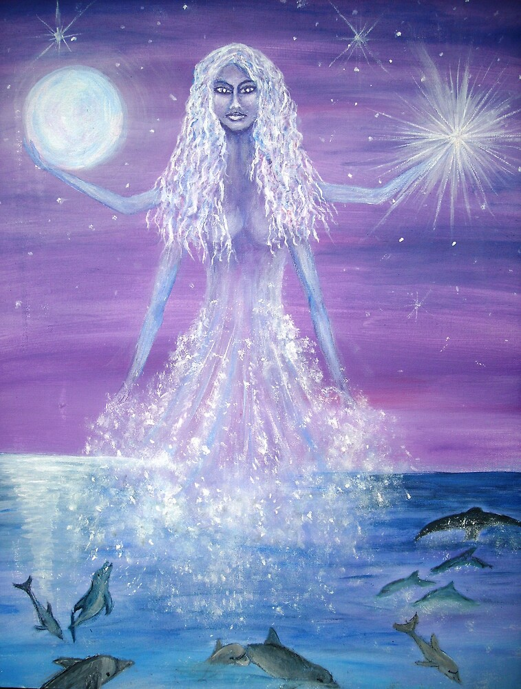 GODDESS OF THE SEA by Rhonda Harman