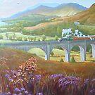 Glenfinnan Viaduct. by Mike Jeffries