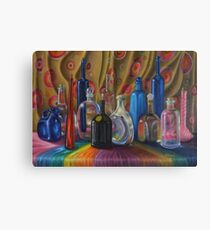 Water bottles Canvas Print